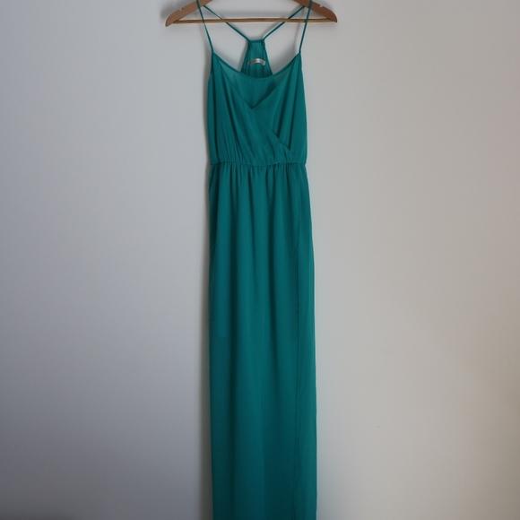 2654f8a07e1 Elegant Mint Green Zara V Neck Flow Summer Dress